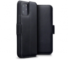 TerrapinTerrapin | Äkta Läder Low Plånboksfodral iPhone 11 Pro - Svart