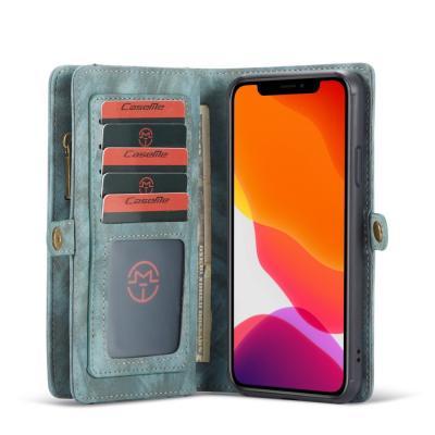 CASEME 2-in-1 Plånboksfodral för iPhone 11 Pro Max - Blå
