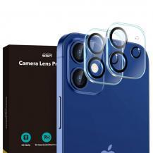 ESREsr - Linsskydd Härdat Glas 2-Pack iPhone 12 - Clear