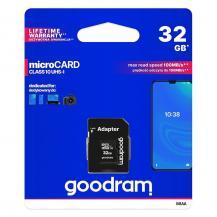 GoodramGoodram Microcard 32 GB micro SD HC UHS-I class 10 memory card
