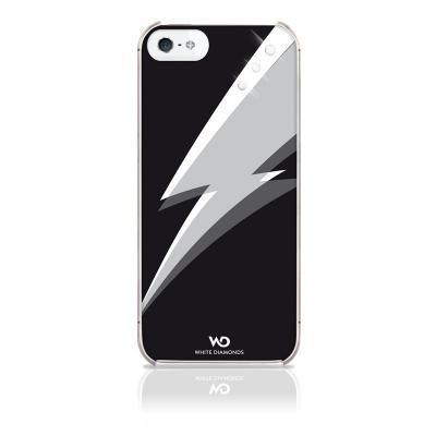 WHITE-DIAMONDS Blitz Svart Apple iPhone 5/5S/SE Skal