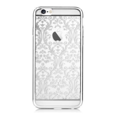 Devia skal med Swarovski-stenar till iPhone 6 / 6S - Pattern Silver