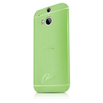 ITSkins Zero 3 Skal till HTC One M8 (Grön) + Skärmskydd