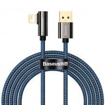 BASEUSBaseus Lightning Kabel USB 2.4A 1m - Blå