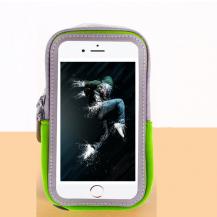 A-One BrandUniversalt sportarmband för mobiler upp till 5.5 tum - Grön