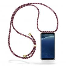 CoveredGear-NecklaceCoveredGear Necklace Case Samsung Galaxy S8 - Red Camo Cord