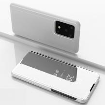 TaltechView Window Flip-Fodral till Samsung Galaxy S20 Ultra - Silver
