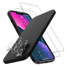 Boom of SwedeniPhone 13 Pro [5-PACK] 1 X Skal - 2 X Linsskydd - 2 X Härdat Glas