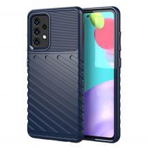 A-One BrandThunder Twill Texture Skal till Galaxy A52 5G - Blå