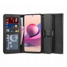 "Tech-ProtectPlånboksfodral ""2"" Xiaomi Redmi Note 10 - Svart"