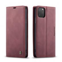 TaltechCASEME Plånboksfodral för iPhone 11 Pro Max - Vinröd