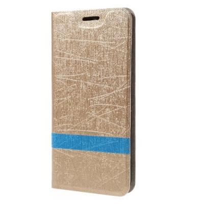 Textured Mobilfodral till ZTE Blade V6 - Gold