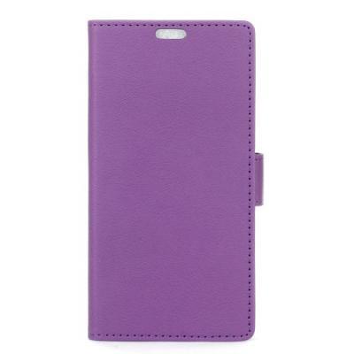 Plånboksfodral av konstläder till LG G5 - Lila