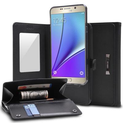 Ringke Wallet Plånboksfodral till Samsung Galaxy S6 Edge - Svart