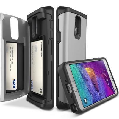 Verus Damda Veil skal med spegel till Samsung Galaxy Note 4 - Silver