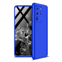 GKKGKK 360 Protection Fram bak skal Galaxy S20 Ultra Blå