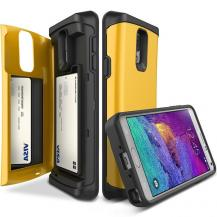 VERUSVerus Damda Veil skal med spegel till Samsung Galaxy Note 4 - Gul