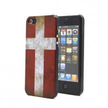 A-One BrandDanmarks flaggaBaksideskal till Apple iPhone 5/5S/SE
