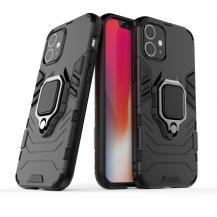 OEMHybrid Ring Mobilskal iPhone 12 & 12 Pro - Svart