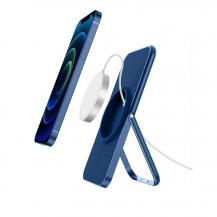 A-One BrandDesktop Mount Magsafe Wireless Charger - Blå