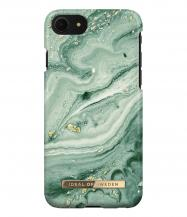 iDeal of SwedeniDeal Fashion Skal iPhone 6/6S/7/8/SE - Mint Swirl Marble