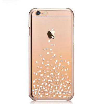 COMMA Baksideskal till Apple iPhone 6(S) Plus- Dots - Guld