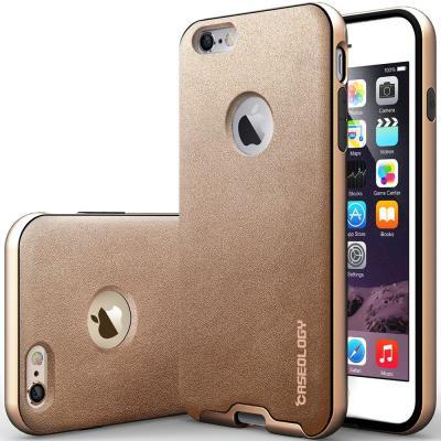 Caseology Bumper Frame Skal till Apple iPhone 6(S) Plus - Guld