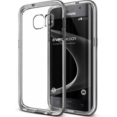 Verus Crystal Bumper Skal till Samsung Galaxy S7 Edge - Svart