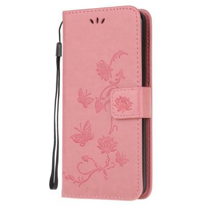 Butterfly Plånboksfodral till Huawei P40 - Rosa