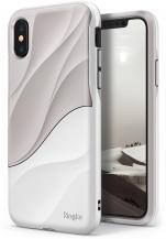 RearthRingke Wave Skal till Apple iPhone XS / X - Vit