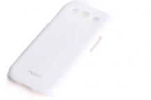 ROCKRock Colorful Skal till Samsung Galaxy S3 i9300 + HD Skärmskydd (Vit)