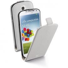 CellularLineCellularLine Flap Essential fodral i ECO-läder för Samsung Galaxy S4 - Vit