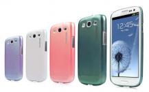CapdaseCAPDASE Karapace till Samsung Galaxy S3 i9300 (Rosa) + Skärmskydd