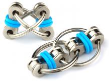 A-One BrandFidget Chain Ring - Flippy Chain Toy - Blå