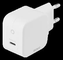 DeltacoDELTACO USB-C väggladdare 30 W med PD och GaN teknologi