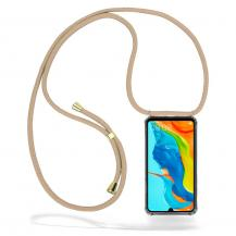 CoveredGear-NecklaceCoveredGear Necklace Case Huawei P30 Lite - Beige Cord
