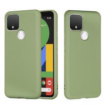 A-One BrandSilikon Flexicase Skal till Google Pixel 5 - Grön