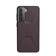 UAGUAG Samsung Galaxy S21 Civil-Fodral Aubergine