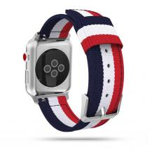 Tech-ProtectTech-Protect Welling Apple Watch 2/3/4/5/6/Se (42mm/44mm) - Navy/Red