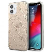 GuessGUESS Skal iPhone 12 mini Glitter - Guld