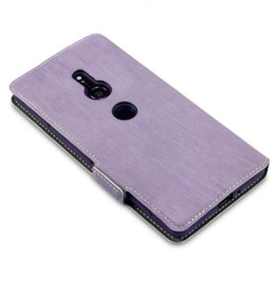 Slimmat Plånboksfodral till Sony Xperia XZ2 - Lila