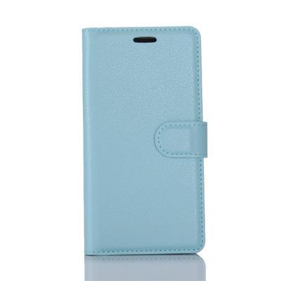 Litchi Plånboksfodral till Nokia 6 - Blå