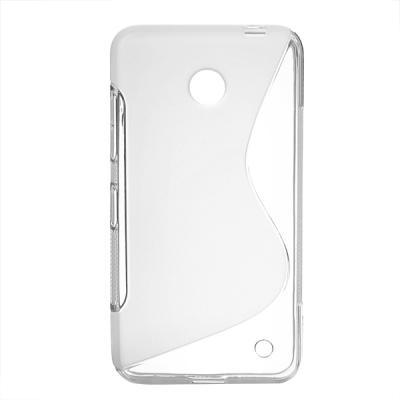 FlexiCase Skal till Nokia Lumia 630 (Transparent)