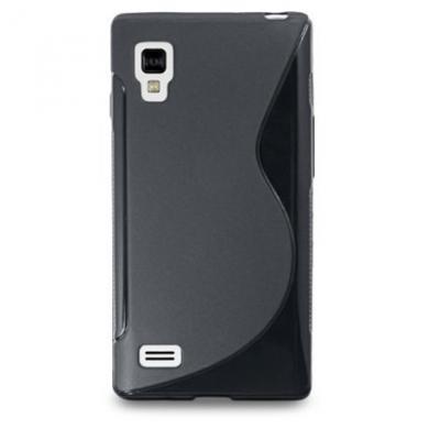FlexiCase Skal till LG Optimus L9 - P760 - (Svart)