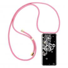 CoveredGear-NecklaceCoveredGear Necklace Case Samsung Galaxy S20 Ultra - Pink Cord