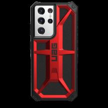 UAGUAG Samsung Galaxy S21 Ultra Monarch-Fodral Crimson
