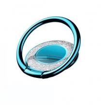 A-One BrandMetal Glitter Ringhållare till Mobiltelefon - Blå