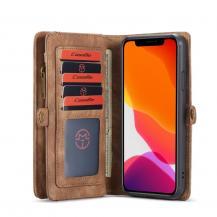 CasemeCASEME 2-in-1 Plånboksfodral för iPhone 11 Pro - Brun
