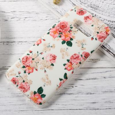 Patterned Mobilskal Samsung Galaxy S8 - Blooming Roses