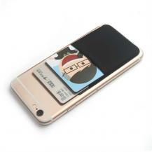 OEMKreditkortshållare för smartphones - Svart